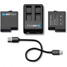 GoPole Dual Battery Kit for GoPro HERO7/6/5 Black