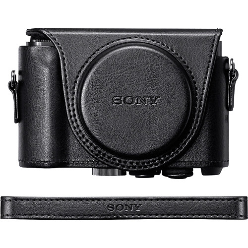 Sony Jacket Case For DSC-HX90V/DSC-WX500 (Black)