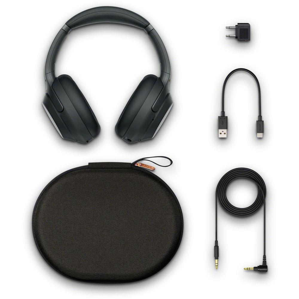 Sony WH-1000XM3 Wireless Noise-Canceling Over-Ear Headphones (Black)