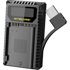 Nitecore UNK2 Dual-Slot USB Charger for Nikon EN-EL15 Batteries