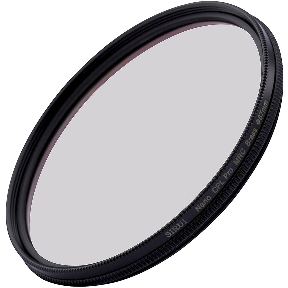 Sirui 67mm Ultra Slim S-Pro Nano MC Circular Polarizer Filter (Brass Filter Ring)