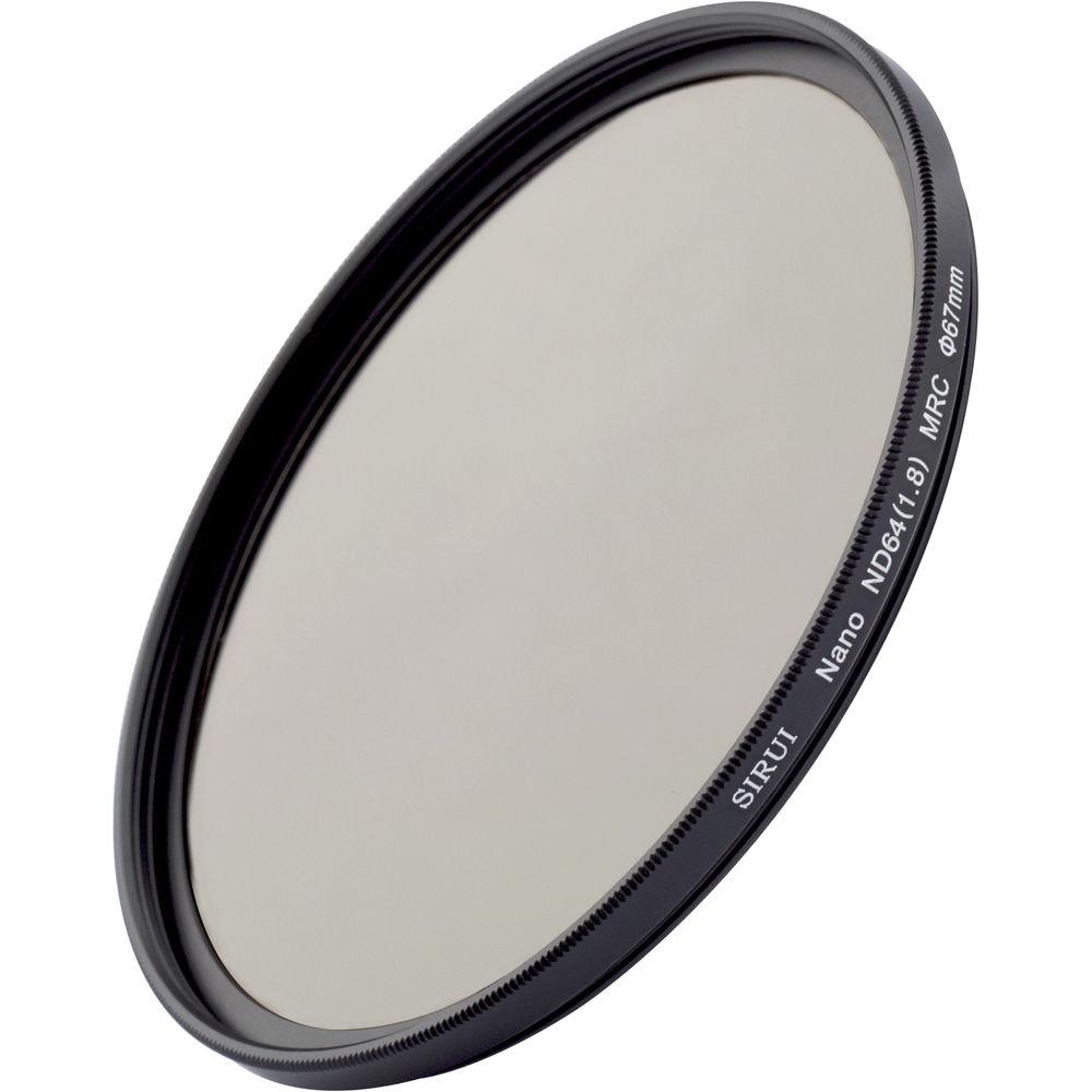 Sirui 67mm Nano MC ND 1.8 Filter (6-Stop)