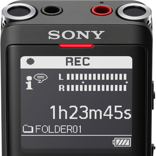 Sony ICD-UX570 Digital Voice Recorder (Black)