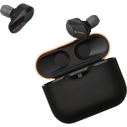Sony WF-1000XM3 True Wireless Noise-Canceling In-Ear Earphones (Black)