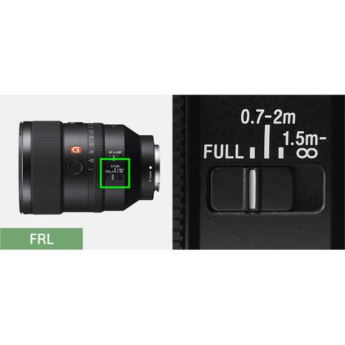 Sony FE 135mm f/1.8 GM Lens