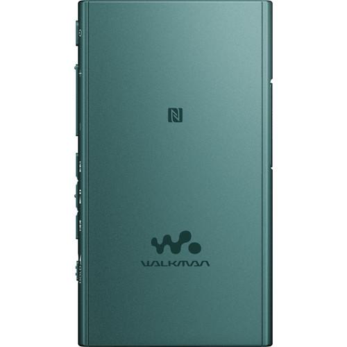 Sony 16GB NW-A35 Walkman Digital Music Player (Viridian Blue)