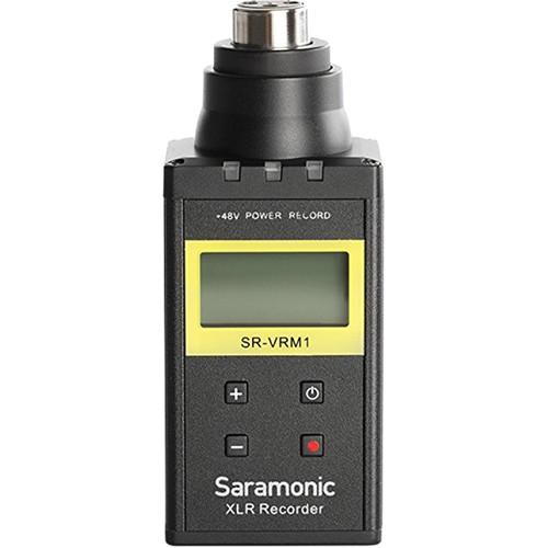 Saramonic SR-VRM1 Plug-On Linear PCM Recorder for XLR Microphones
