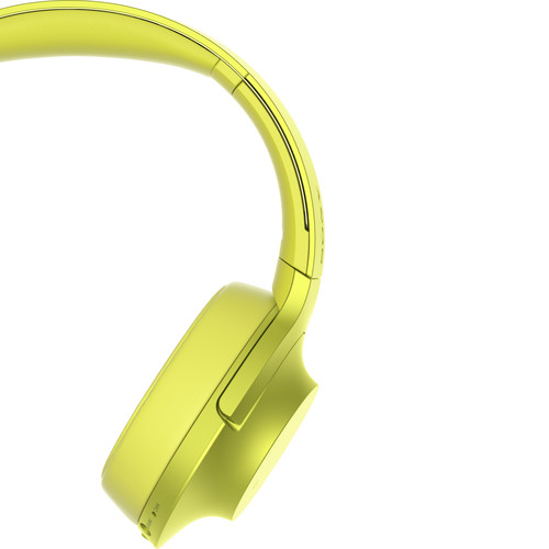 MDR-100ABN-Sony h.ear on Wireless NC Bluetooth Headphones (Lime Yellow)