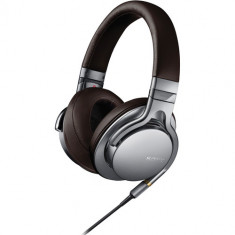 Sony MDR-1A Premium Hi-Res Stereo Headphones (Silver)