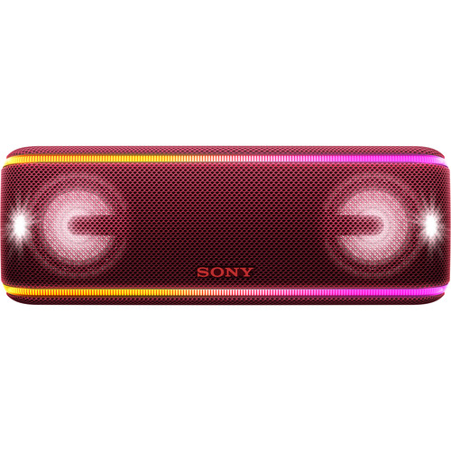 Sony SRS-XB41 Portable Wireless Bluetooth Speaker (Red)