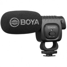 BOYA BY-BM3011 Camera-Mount Cardioid Shotgun Microphone