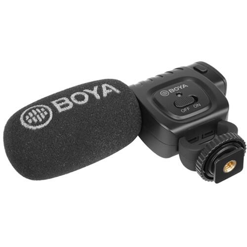 BOYA BY-BM3011 Camera-Mount Cardioid Shotgun Microphone