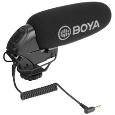 BOYA BY-BM3032 Camera-Mount Supercardioid Shotgun Microphone