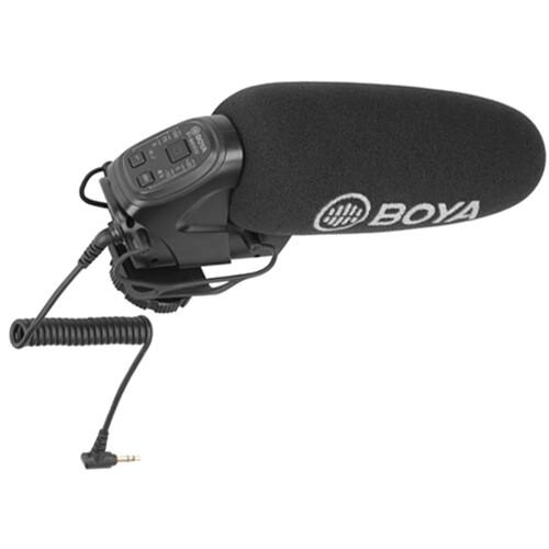 BOYA BY-BM3032 Camera-Mount Supercardioid Shotgun Microphone