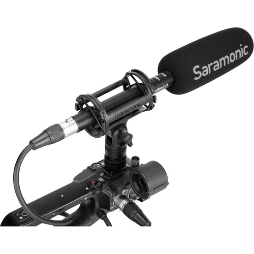 Saramonic SoundBird V1 Shotgun Microphone (Battery, Phantom)