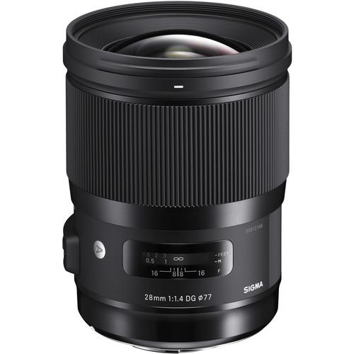 Sigma 28mm f/1.4 DG HSM Art Lens for Canon EF
