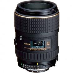 Tokina 100mm f/2.8 AT-X M100 AF Pro D Macro Autofocus Lens for Nikon F