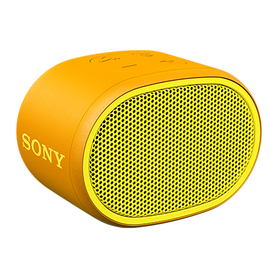 Sony SRS-XB01 EXTRA BASS Portable Bluetooth Speaker (Yellow)