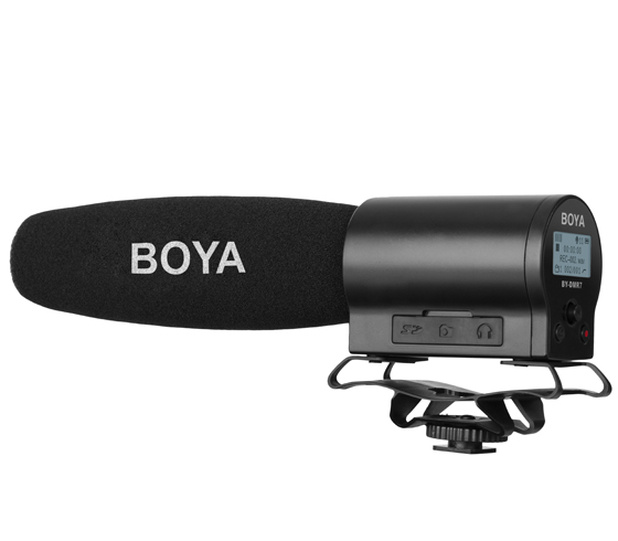 BOYA BY-DMR7 Shotgun On Camera Microphone