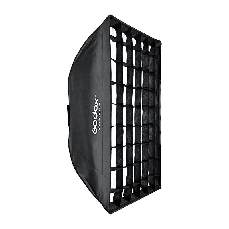 Godox SB-FW80120 Softbox with Grid for Smart, Mini Pioneer, and Mini Master Lights (80x120CM)