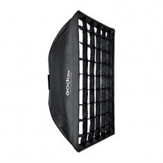 Godox SB-FW70100 Softbox with Grid for Smart, Mini Pioneer, and Mini Master Lights (760x100CM)