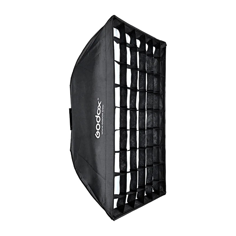 Godox SB-FW70100 Softbox with Grid for Smart, Mini Pioneer, and Mini Master Lights (70x100CM)