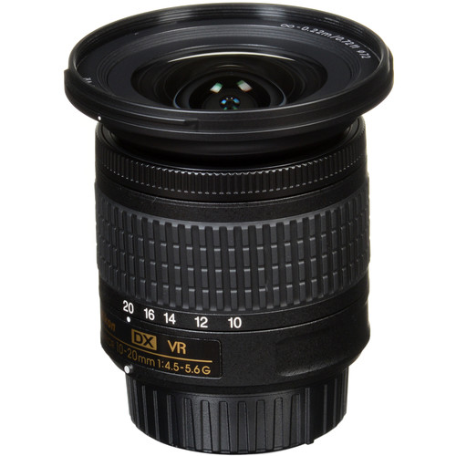 Nikon AF-P DX NIKKOR 10-20mm f/4.5-5.6G VR Lens
