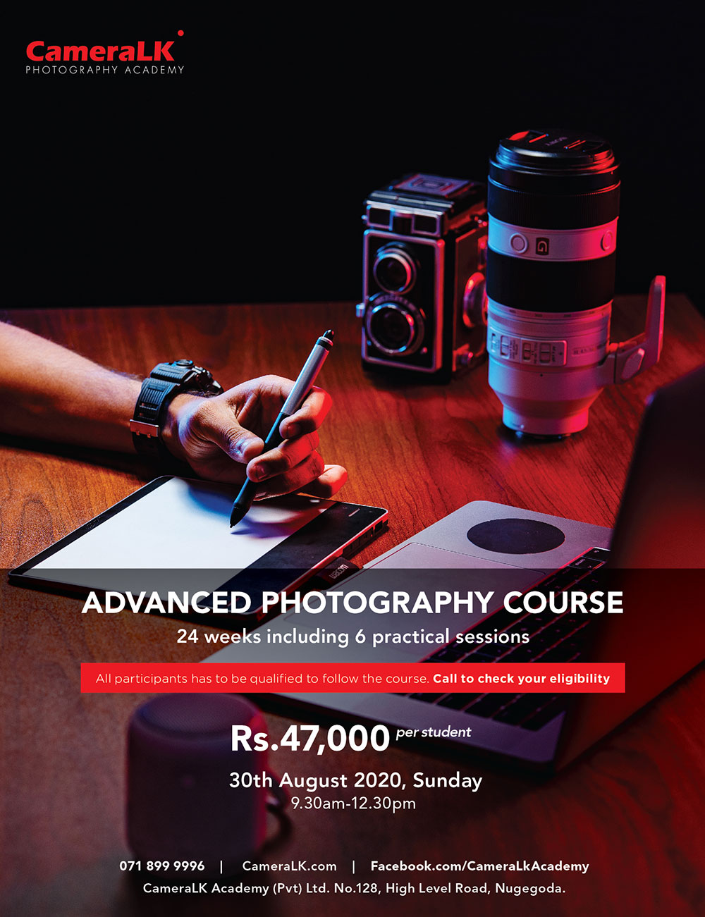 Advanced Photography Course all set to begin !!!!