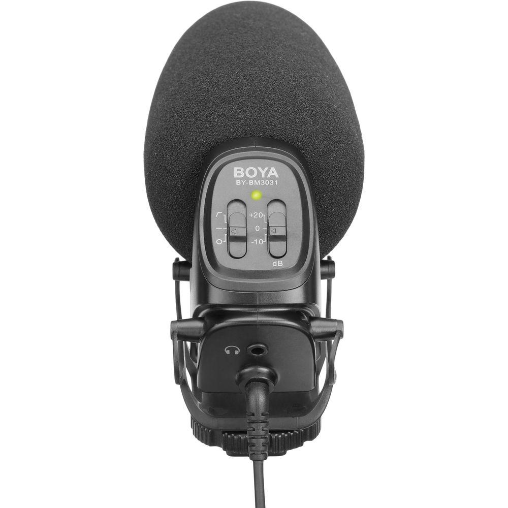 BOYA BY-BM3031 On-Camera Supercardioid Shotgun Microphone
