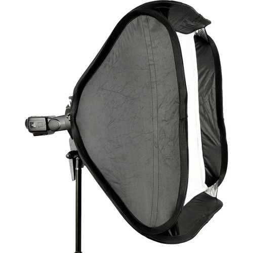 Godox S-Type Bowens Mount Flash Bracket with Softbox Kit (60x60cm)