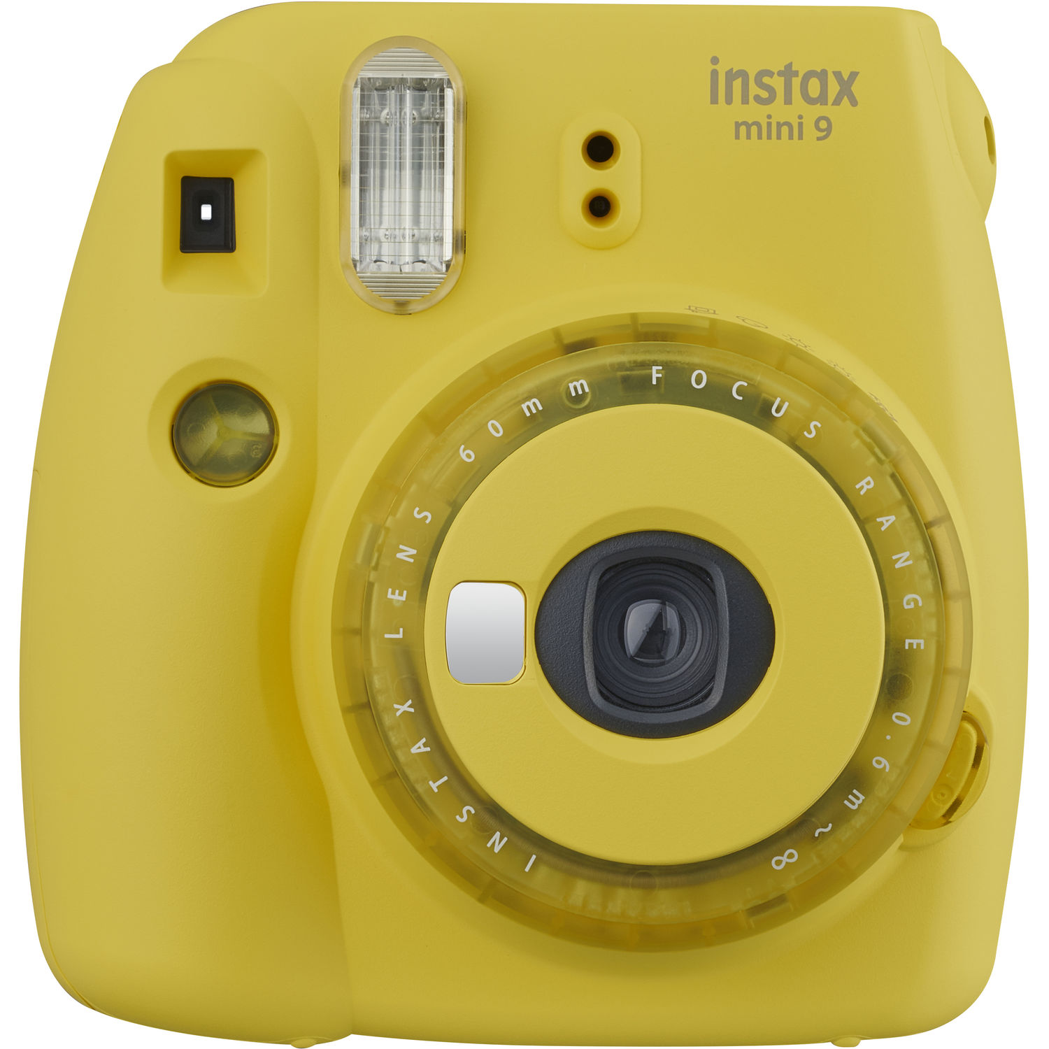 FUJIFILM INSTAX Mini 9 Instant Film Camera (Yellow)