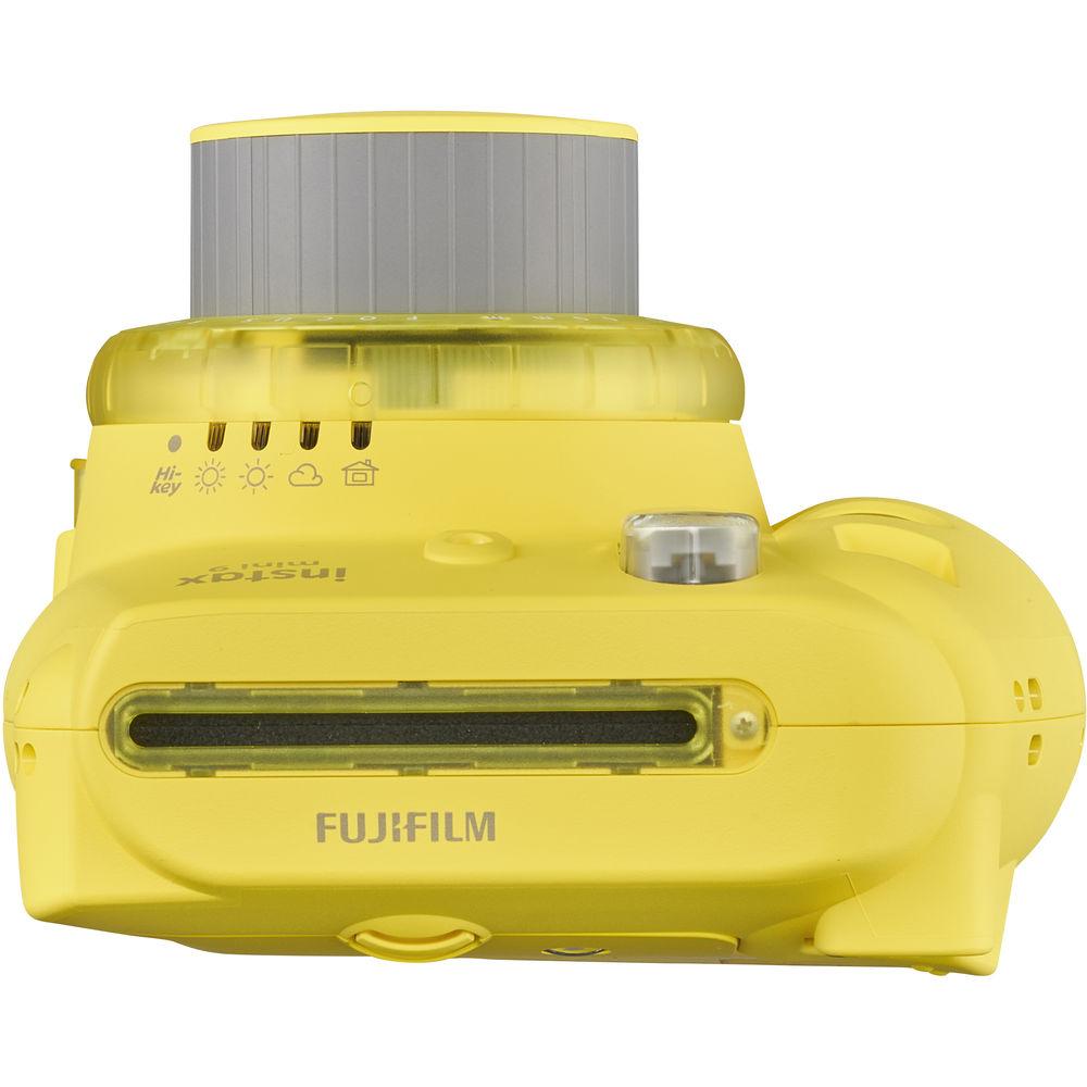 FUJIFILM INSTAX Mini 9 Instant Film Camera (Yellow)
