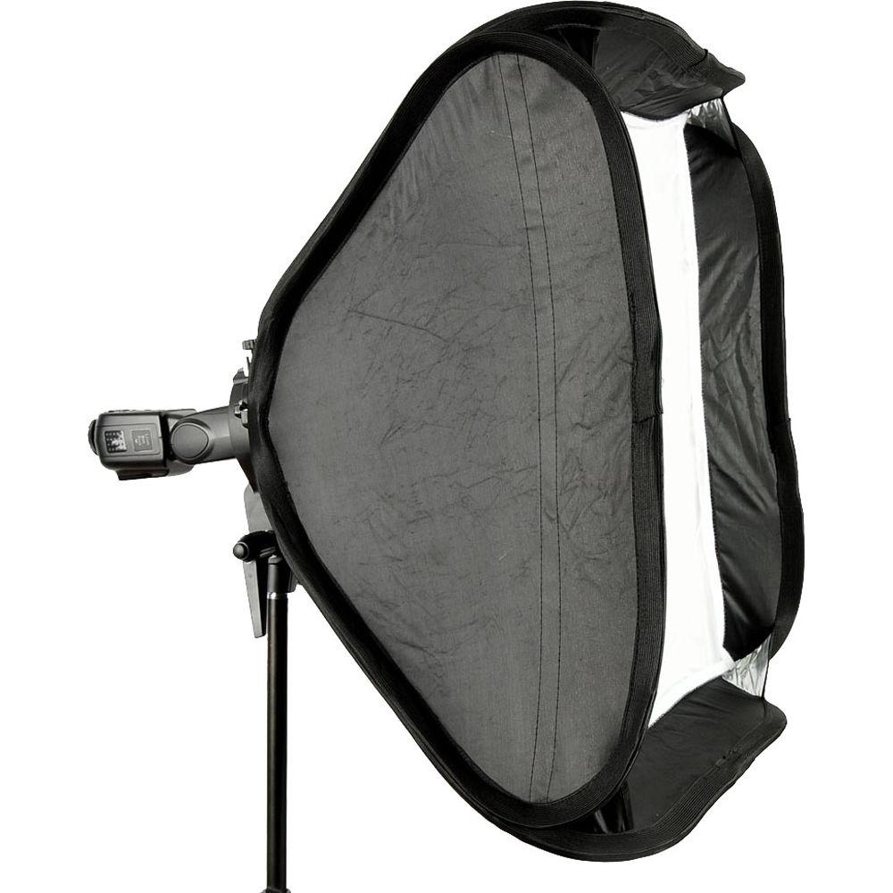 Godox S-Type Bowens Mount Flash Bracket with Softbox Kit (50x50cm)