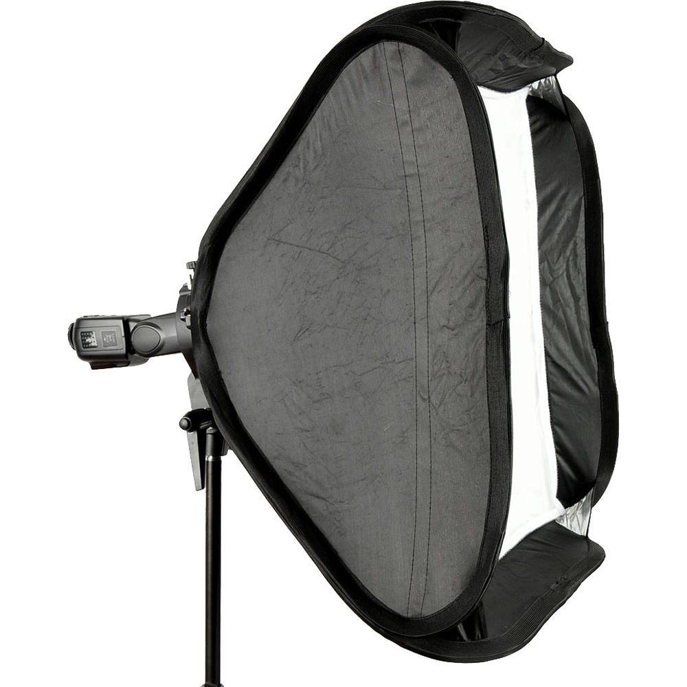 Godox S-Type Bowens Mount Flash Bracket with Softbox Kit (40x40cm)