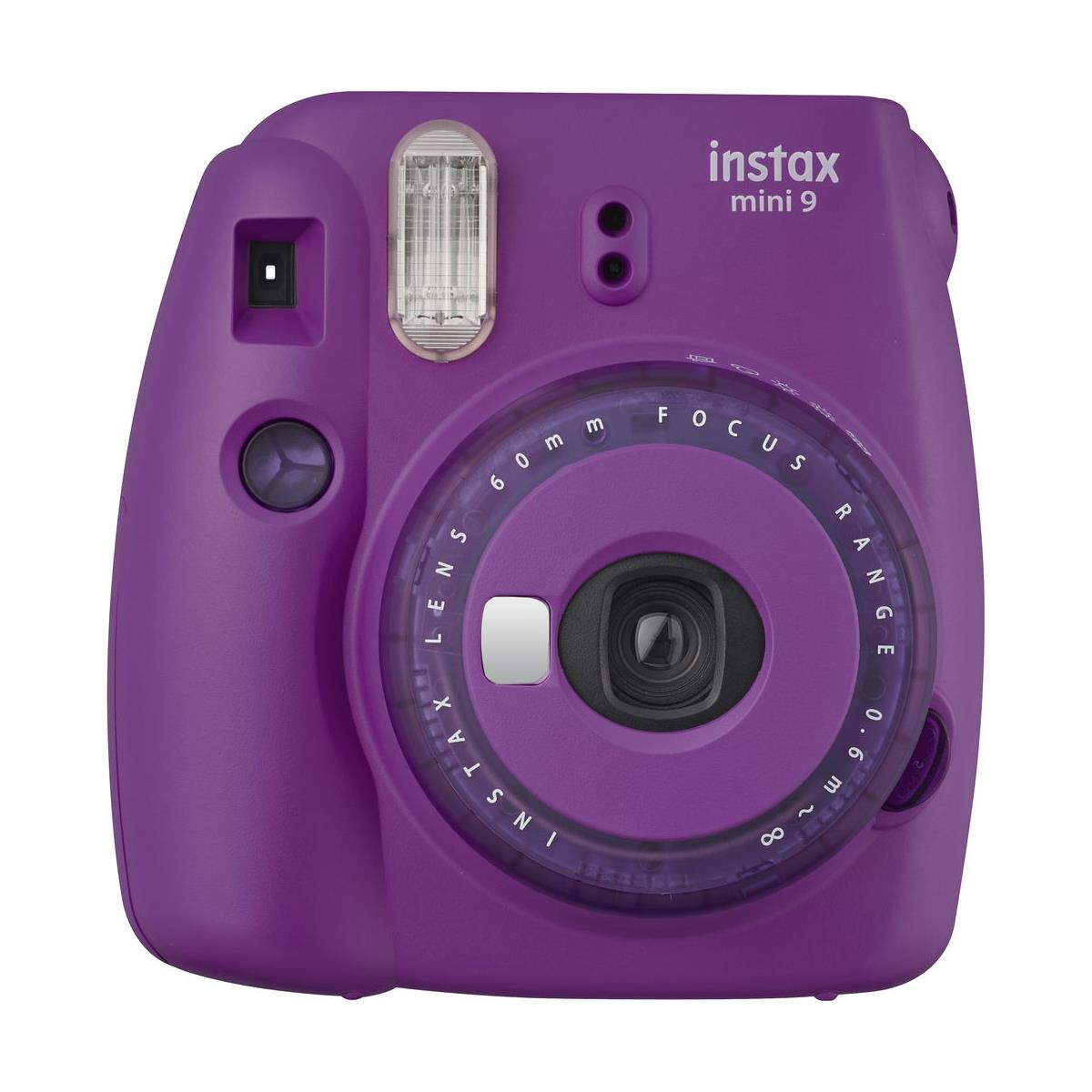FUJIFILM INSTAX Mini 9 Instant Film Camera (Clear Purple)