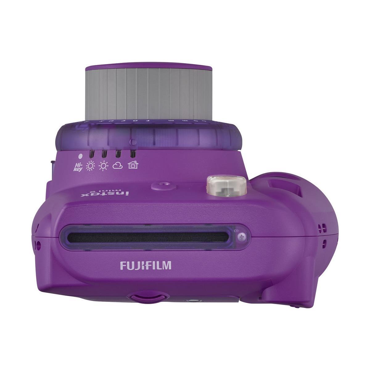 FUJIFILM INSTAX Mini 9 Instant Film Camera (Clear Purple)