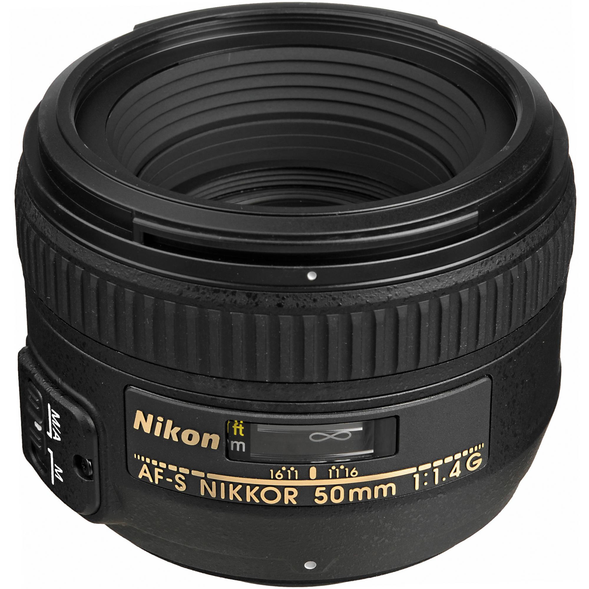 Nikon AF-S NIKKOR 50mm f/1.4G Lens