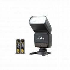 Godox TT350N Mini Thinklite TTL Flash for Nikon Cameras with GP Lithium AA 2 Batteries