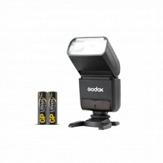 Godox TT350S Mini Thinklite TTL Flash for Sony Cameras with GP Lithium AA 2 Batteries