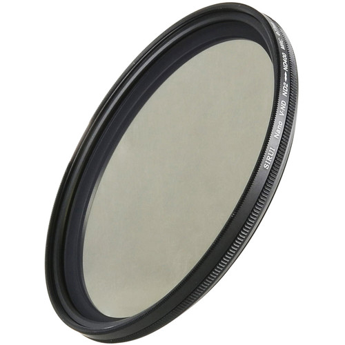 Sirui 77mm Variable Neutral Density 0.3 to 2.4 Filter (1 to 8-Stop)