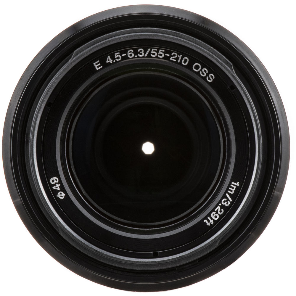 Sony E 55-210mm f/4.5-6.3 OSS Lens (Black)