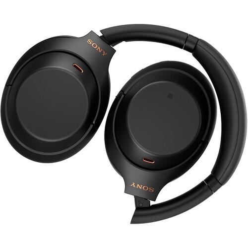 Sony WH-1000XM4 Wireless Noise-Canceling Over-Ear Headphones (Black)