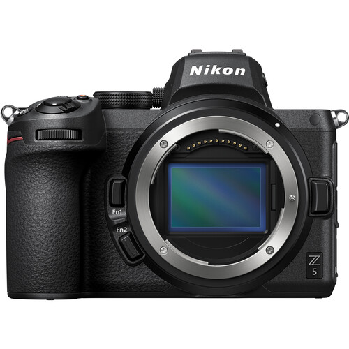Nikon Z 5 Mirrorless Digital Camera with Nikon FTZ Mount Adapter