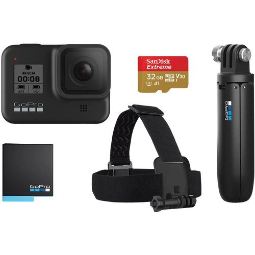 GoPro HERO8 Black 2019 Bundle