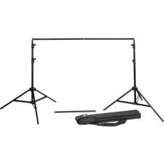 Godox BS-04 Retractable Background Stand with Carrying Bag (Black)