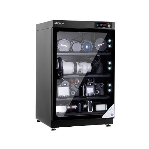 Andbon AD-80S 80 Liters Capacity Digital Display Dry Cabinet