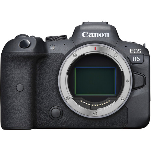 Canon EOS R6 Mirrorless Digital Camera with EF-EOS R Adapter