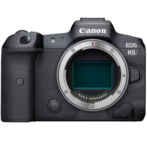 Canon EOS R5 Mirrorless Digital Camera with EOS R Adapter