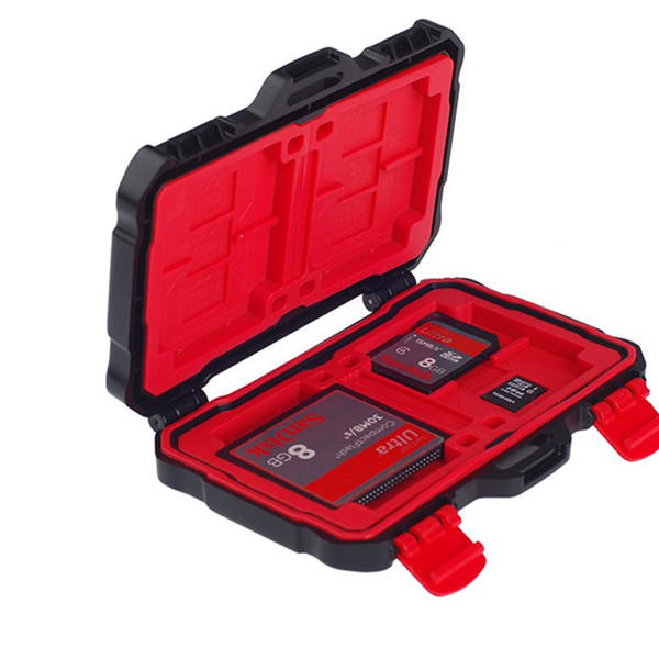 LYNCA KH-10 Waterproof Memory Card TF Card Collection Case Storage Box