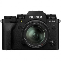 FUJIFILM X-T4 Mirrorless Digital Camera with 18-55mm Lens (Black)